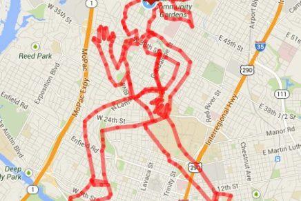 Pokret urbanog trčanja – GPS umjetnost